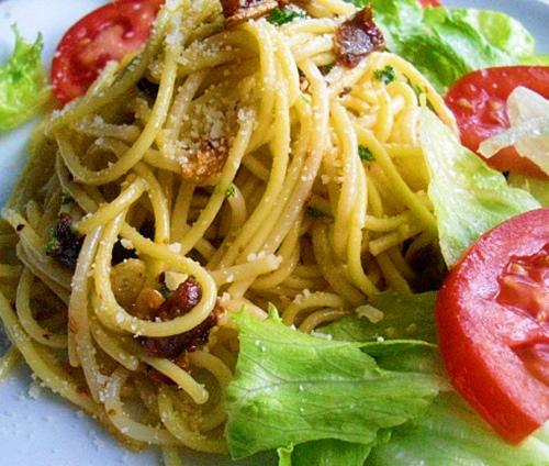Bezlepkové špagety na italský způsob