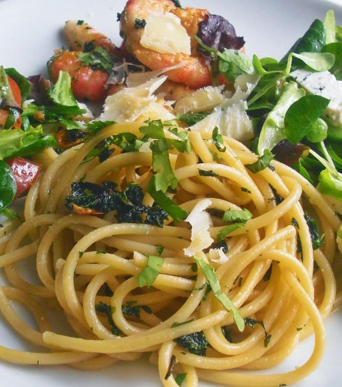 Jednoduchá špagetová variace