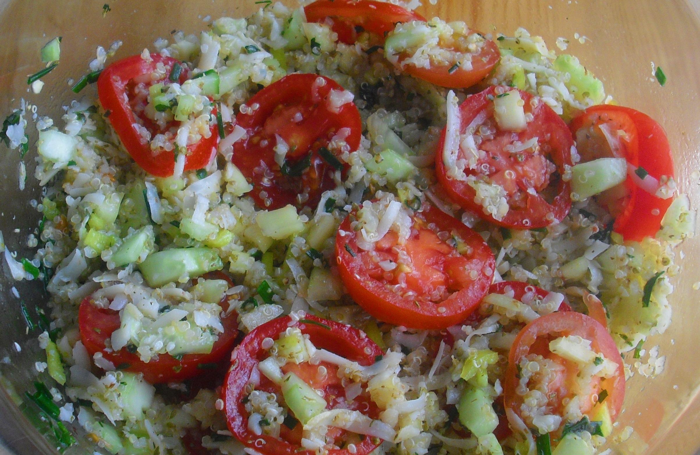 Salát z quinoi s vůní Středomoří