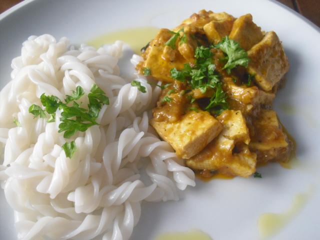 Tofu na indický způsob