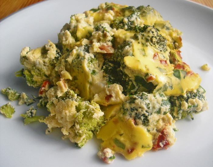Zapečená brokolice s medvědím česnekem