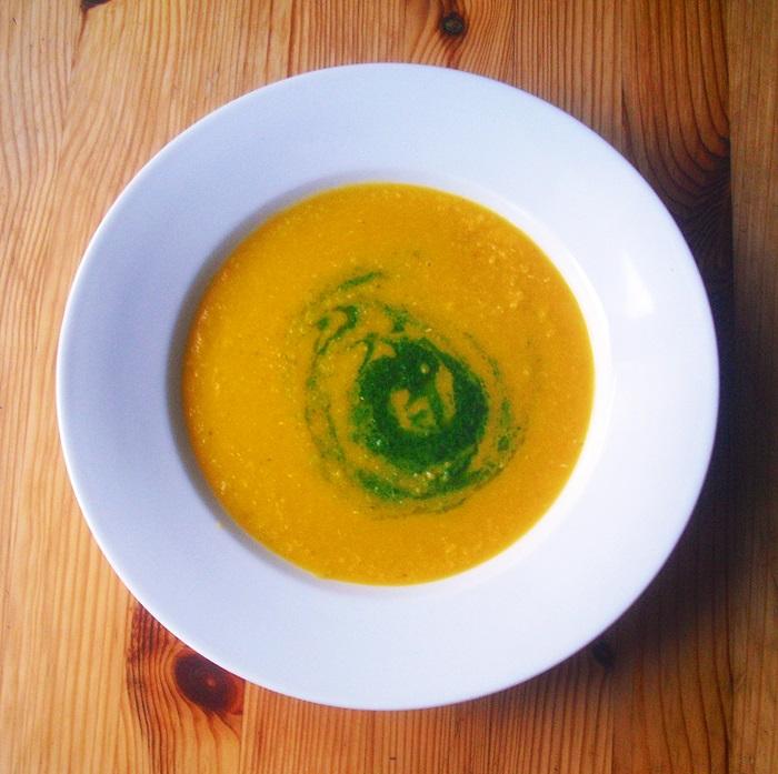Čočkovo-mrkvová polévka